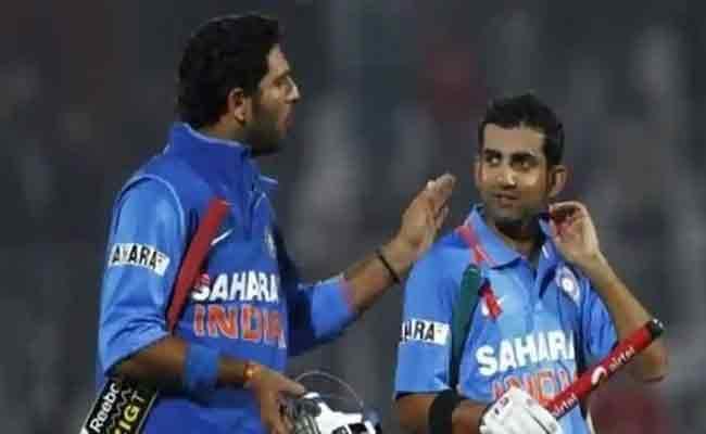 Gautam Gambhir Reacts To Yuvraj Singh Decision - Sakshi