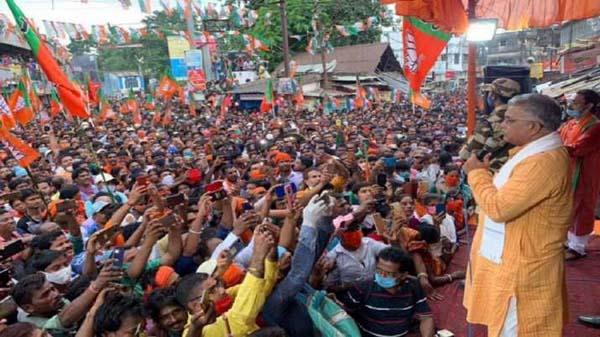 BJPs Bengal Chief Declares Corona Is Gone - Sakshi