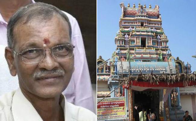 Sreenath Devireddy Visited Subrahmanyeswara Swamy Devasthanam Mopidevi  - Sakshi