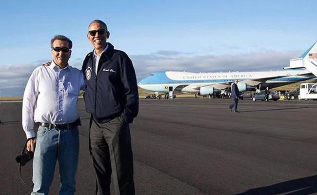 Obama Photographer Gets International Award - Sakshi