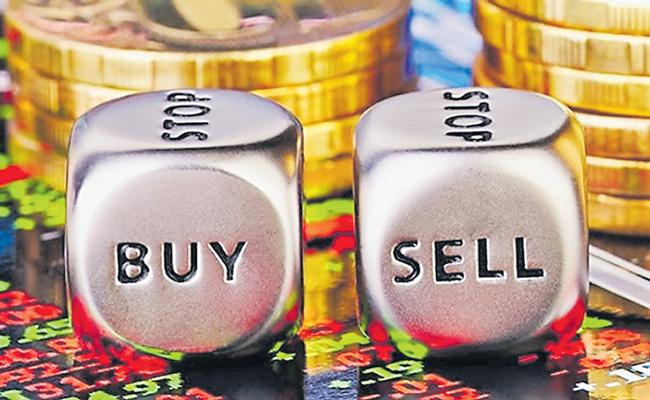 Sensex and Nifty End Flat With Focus on China Border Talks - Sakshi