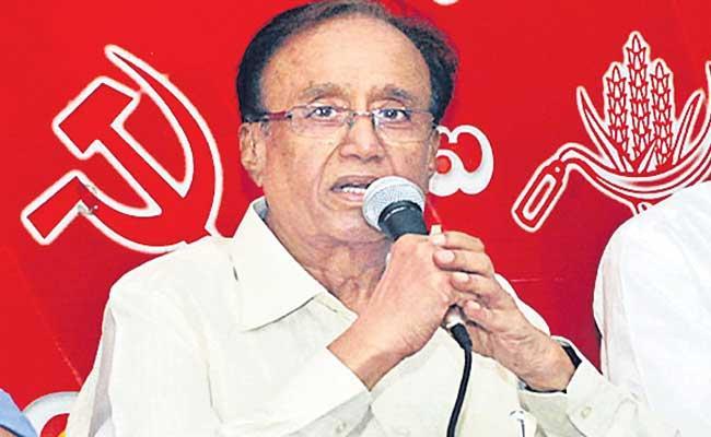 CPI Leader Suravaram Sudhakar Reddy Fires On BJP Party - Sakshi