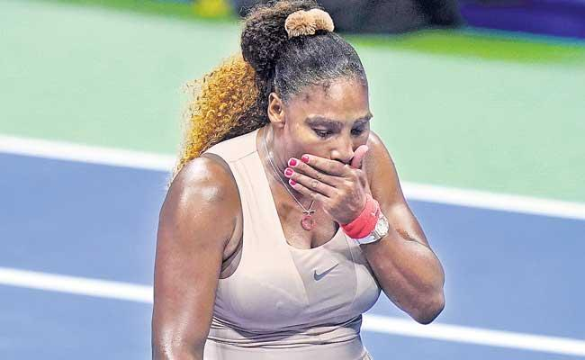 Serena Williams Lost Semi Final In US Open Tennis Tournament - Sakshi