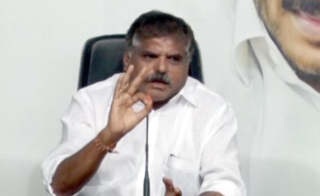 Botsa Satyanarayana Fires On Chandrababu Naidu - Sakshi