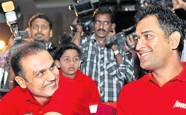 Chennai Super Kings First Priority Was Virender Sehwag Not MS Dhoni - Sakshi