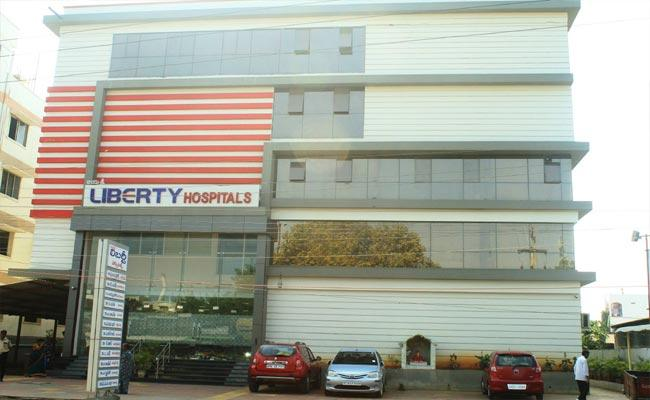Collector Imtiaz Canceled Covid Treatment At Liberty Hospital - Sakshi