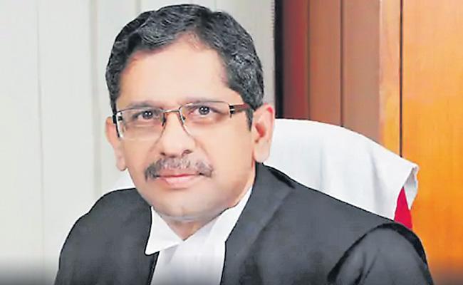 Judges becoming victims of slanderous social media postings - Sakshi