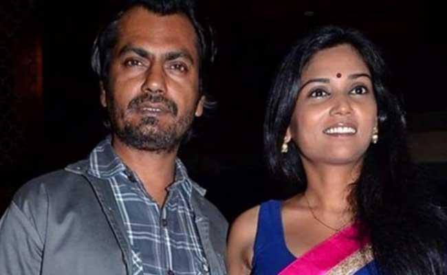 Nawazuddin Siddiquis wife records statement at Budhana Police Station - Sakshi