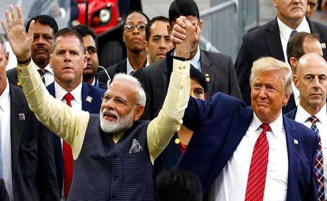 US election: Donald Trump campaign video featuring Narendra Modi - Sakshi