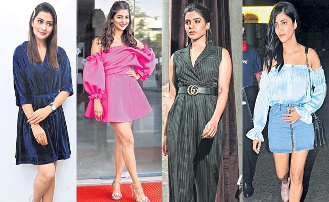 Weekend programs about tollywood heroines  - Sakshi