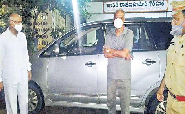 Unknown Persons Attacked On CPI Office - Sakshi