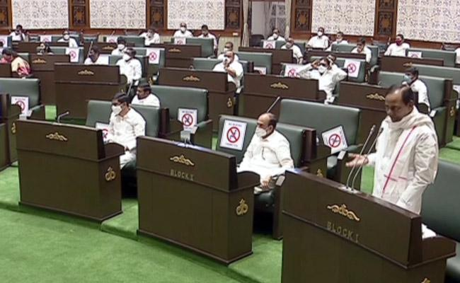 Telangana Legislative Assembly Approves Key Bills - Sakshi
