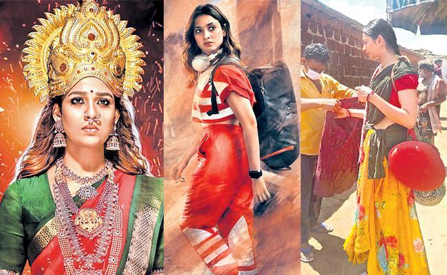 sakshi special story about heroin challenging roles - Sakshi
