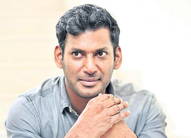 Rumors Over Vishal Joining In BJP - Sakshi