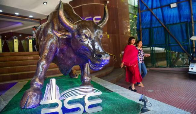Sensex @39,000- Private Banks lifts market - Sakshi