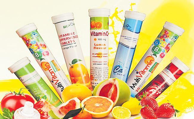 Vitamin tablets sales increase in india - Sakshi