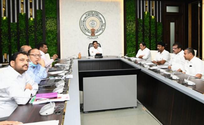 CM YS Jagan Review Meet On Ambedkar Statue Construction Vijayawada - Sakshi