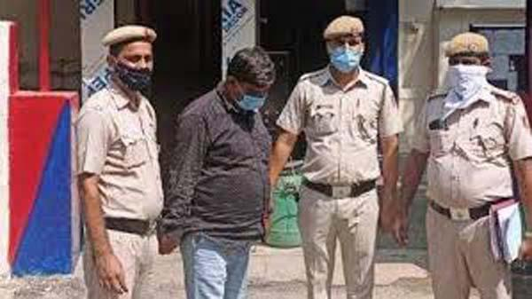 Man Was Arrested For Allegedly Cheating A Food Grain Merchant - Sakshi
