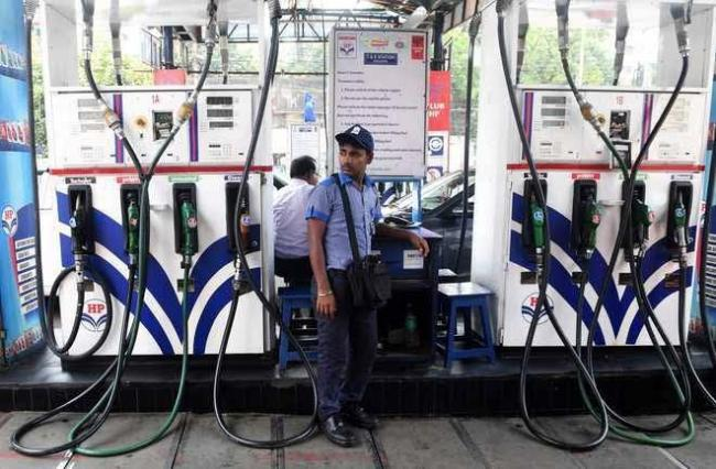 Petrol diesel witness price cut for second day straight - Sakshi