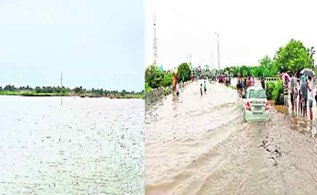Heavy Rainfall Lashes Parts In Andhra Pradesh - Sakshi