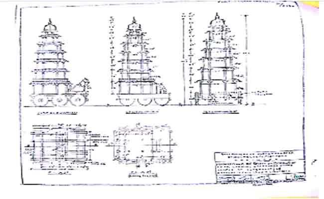 Government Ready to Construct 41 feet Chariot in Antarvedi - Sakshi