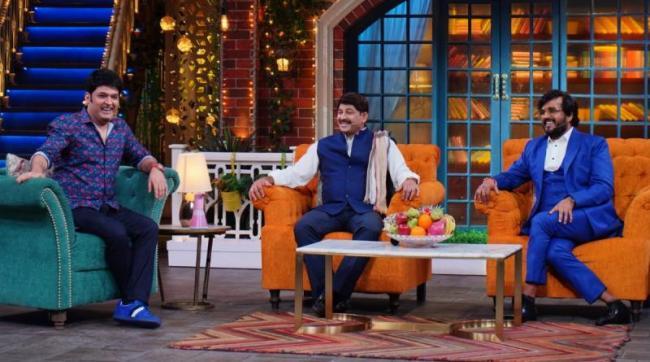 Bhojpuri Actors Ravi Kishan and Manoj Tiwari Kapil Sharma Show - Sakshi
