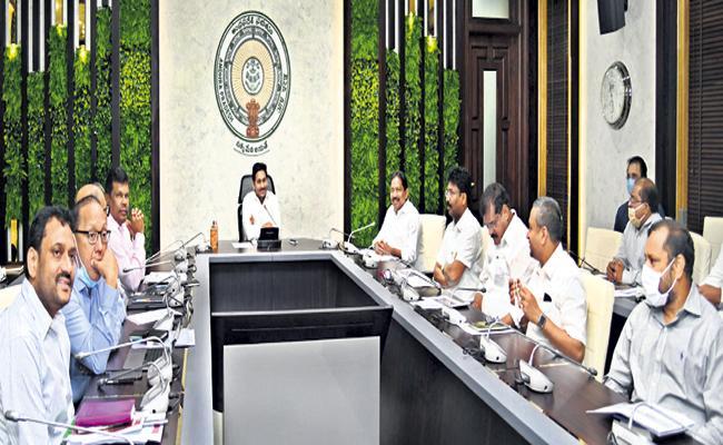 CM YS Jagan Review On Set up the Ambedkar Statue In Swaraj Maidan - Sakshi