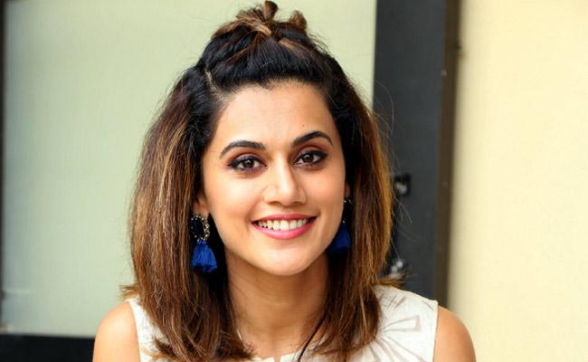 Taapsee Pannu On Rhea Chakraborty: I Really Did Not Know Her At All - Sakshi