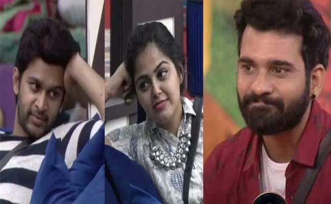 Bigg Boss 4 Telugu: Triangle Love Story Among Abhijeet, Monal And Akhil - Sakshi