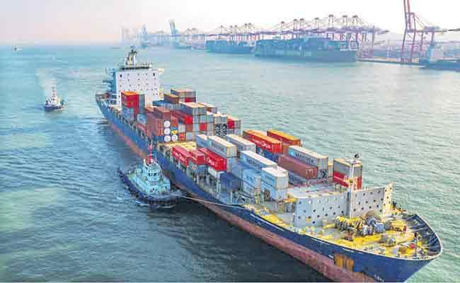 Indias Exports Continued To Decline For The sixth Consecutive Month - Sakshi