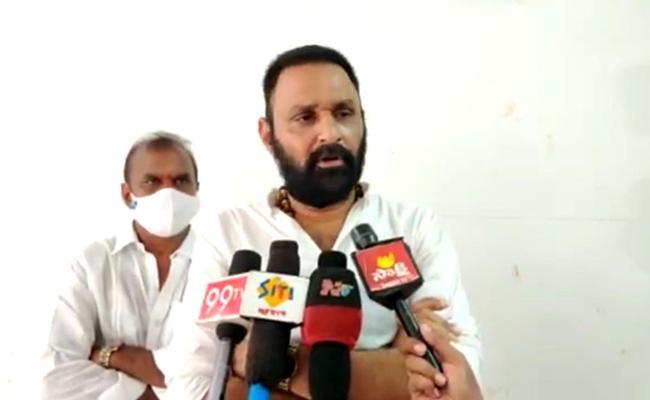 Kodali Nani Slams Chandrababu Naidu Insider Trading In Amravati - Sakshi