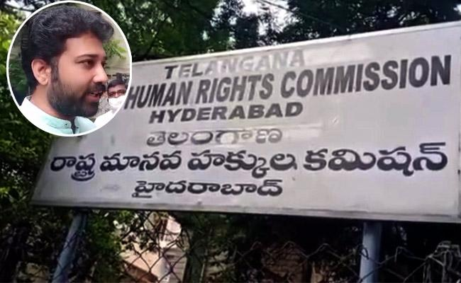 HRC Responded Over Shiva Balaji Petition On A Private School - Sakshi