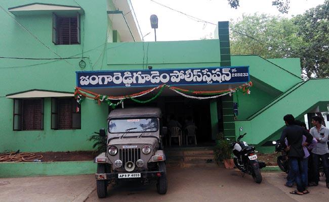 Jaggareddy Gudam Police Station Means Police Officers Are Scared - Sakshi