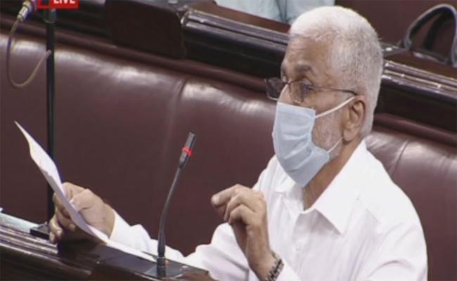 MP Vijay Sai Reddy Speech In Rajya Sabha Over AP Judicial System - Sakshi