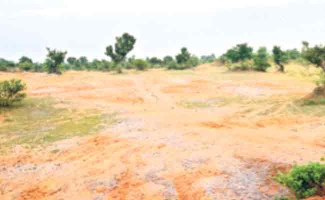 Land Dispute Between Forest And Revenue Department In Adilabad - Sakshi
