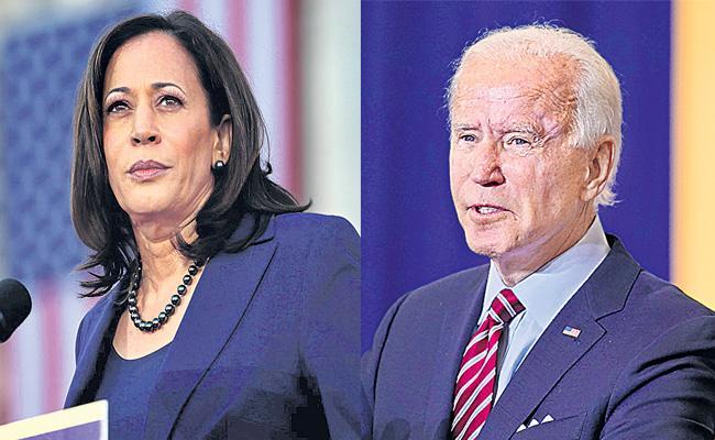 Indian Americans favour Joe Biden - Sakshi