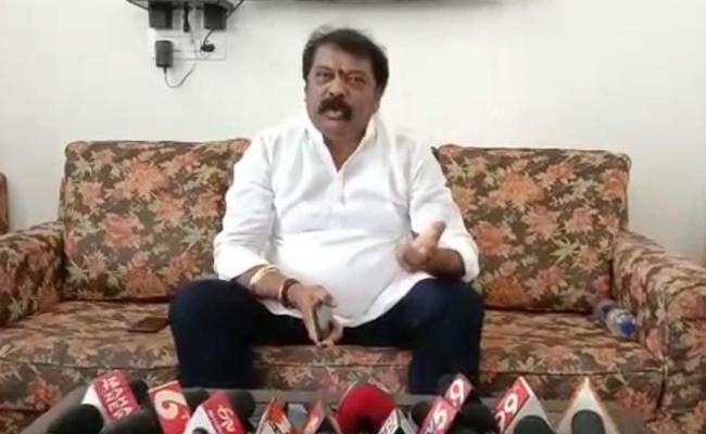 Minister Gummanur Jayaram Hits Aayanapathurdu Comments - Sakshi
