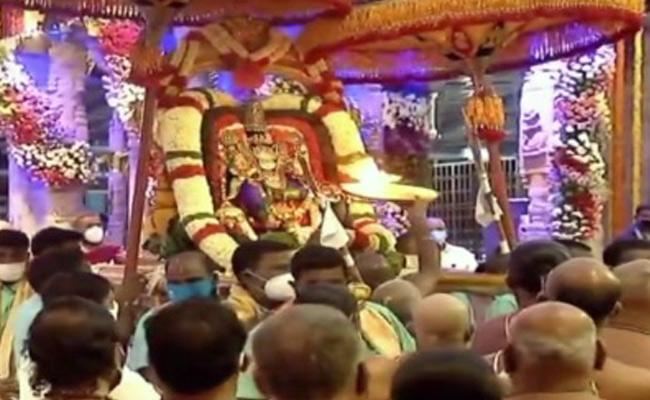 Tirumala TTD Brahmotsavam 2020 - Sakshi