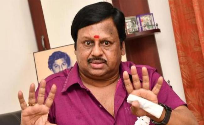Veteran ActorRamarajan Admitted To hospital Due To breathlessness - Sakshi