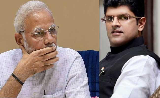 Dushyant Chautala may Quit NDA In Haryana - Sakshi