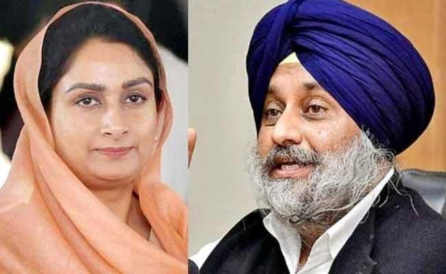 Political Strategy Behind Harsimrat Kaur resign In Punjab - Sakshi