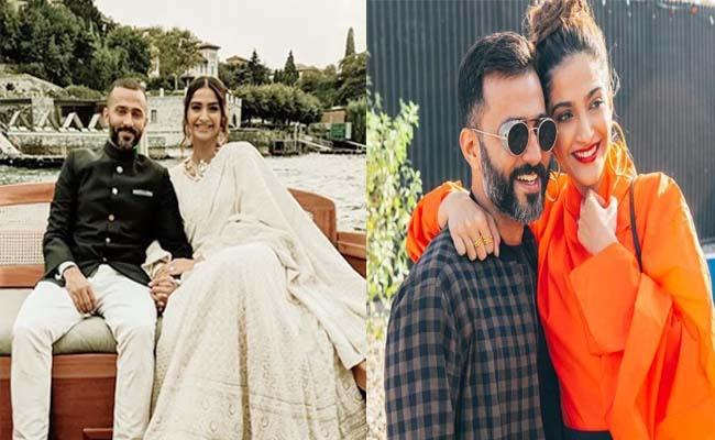 Sonam Kapoor Blasts American Influencer For Calling Anand Ahuja Ugliest - Sakshi