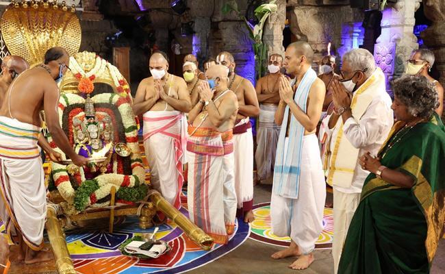 TTD: The Nine Day Annual Brahmotsavam festival Started In Tirumala - Sakshi