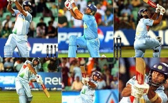 13 Years Completed For Yuvraj Singh Six Sixes On Six Balls - Sakshi