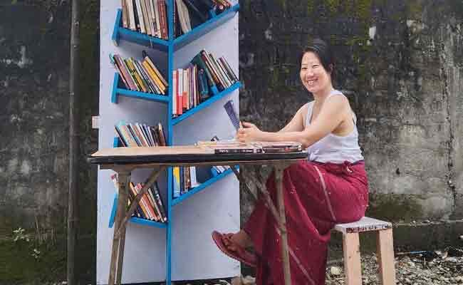 Thirty Years Old Woman Sets Up Free Library In Rural Arunachal Pradesh - Sakshi
