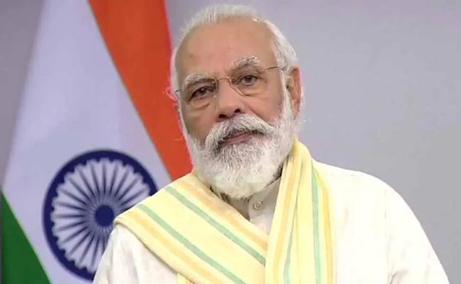 PM Modi To Hold Meeting Discuss Covid 19 Situation 7 States CMs - Sakshi