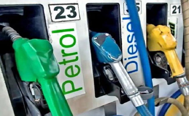 AP Imposes Road Development Cess on Petrol and Diesel - Sakshi
