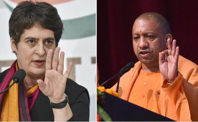 Priyanka Gandhi Slams UP Government On Unemployment - Sakshi