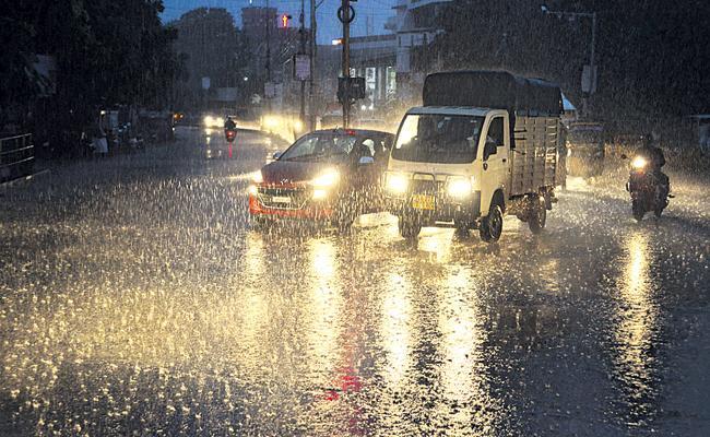 Huge Rainfall In Andhra Pradesh For Three Days - Sakshi