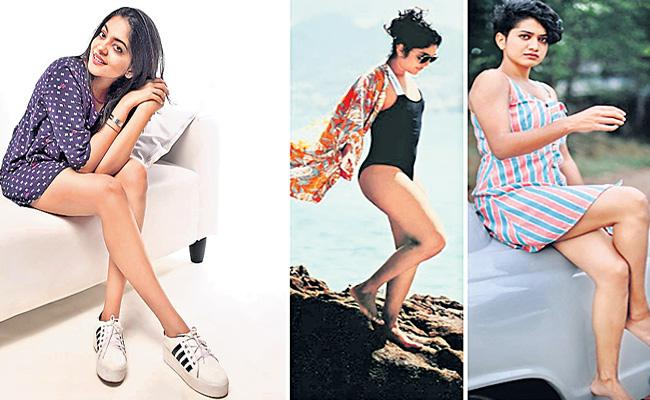 Malayalam Heroines Supports Yes We Have Legs Campaign In Kerala - Sakshi